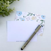 Blank Floral Flat Cards (Pack of 10)