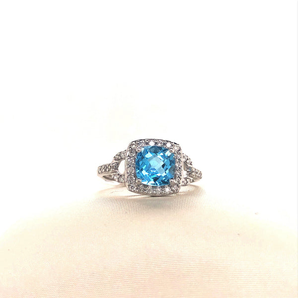 Topaz Statement Ring