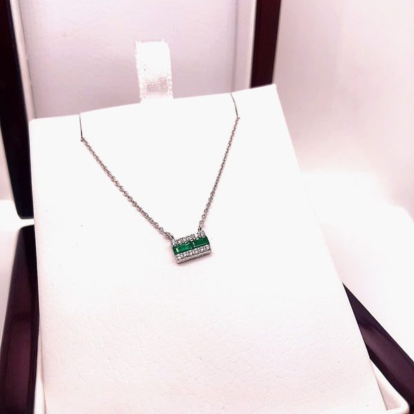 Emerald & Diamond Bar