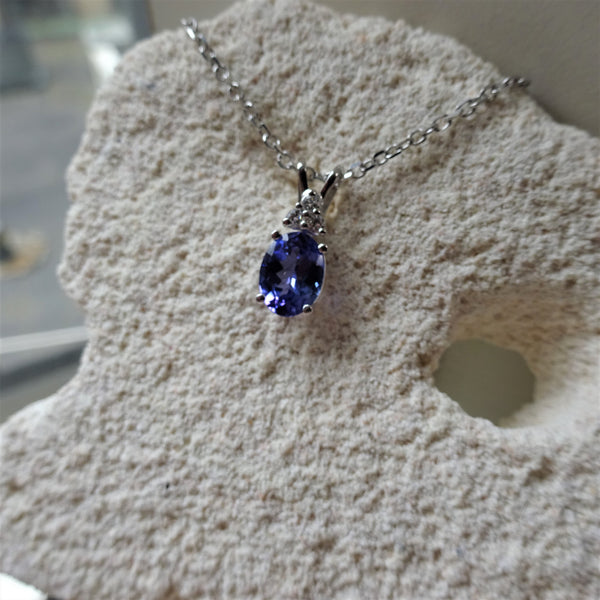 The Tanzanite Pendant
