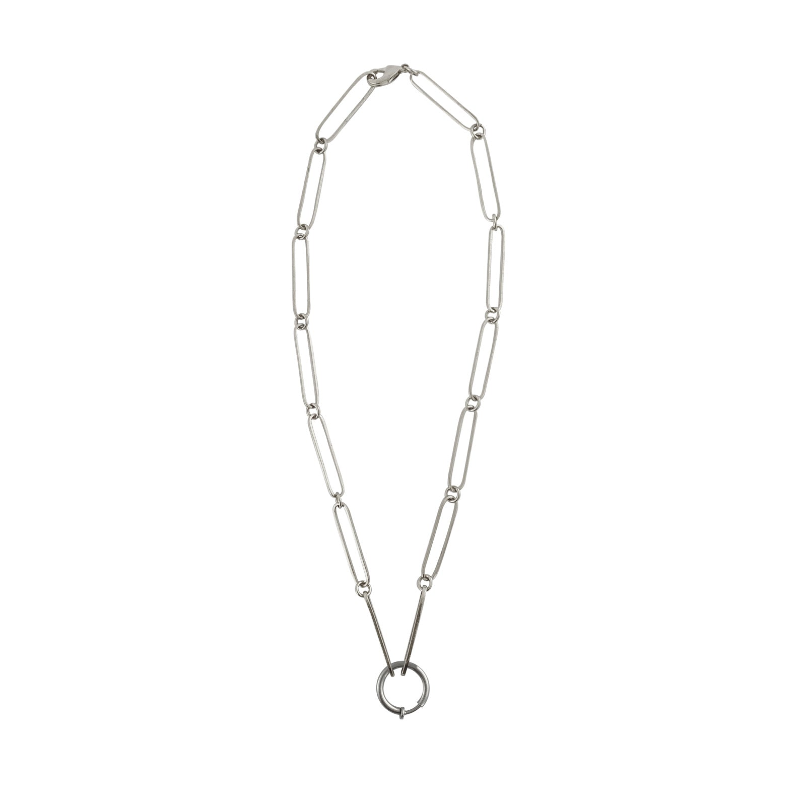 Mystic chain elongated silver 925 links colombian jewelry ana buendia