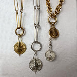 Load image into Gallery viewer, Mystic chain elongated silver 925 links colombian jewelry ana buendia, gold plated chains and charms, from the sierra nevada