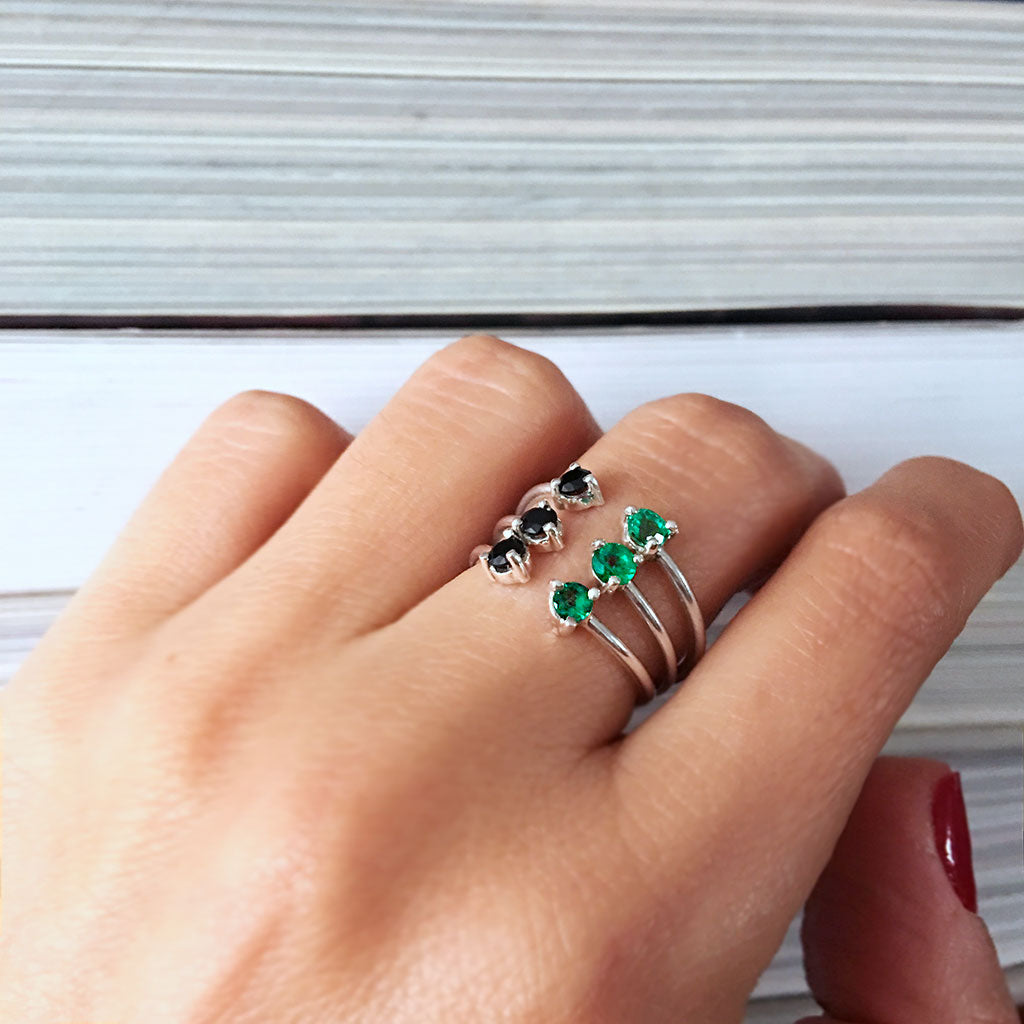 OMH OMH EMERALD RING