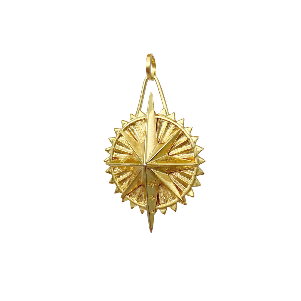 ayu medallion stars sterling silver and gold colombian designers mystic jewelry