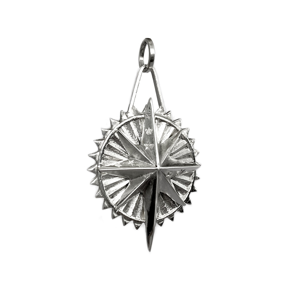sterling silver medallion stars colombian designers mystic jewelry