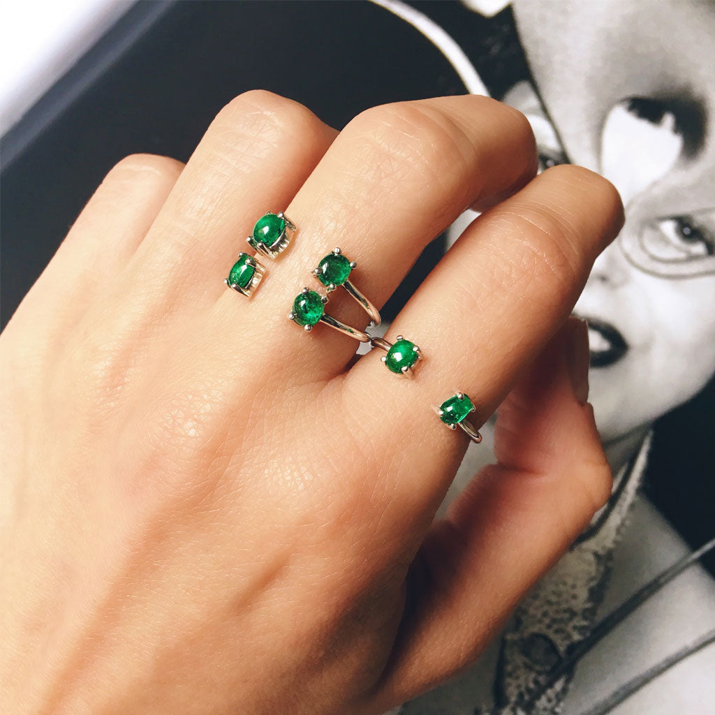 SYZY EMERALD RING