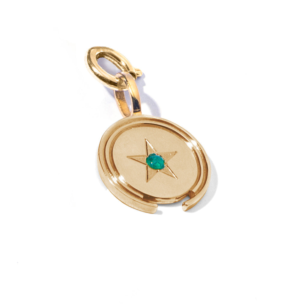 Gold vermeil colombian emerald coins ana buendia colombian jewelry