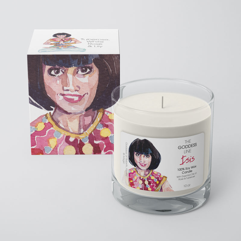 Isis Candle