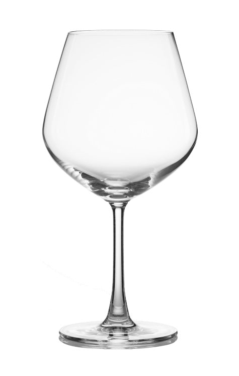 LUCARIS, Temptation Burgundy Stemware Glasses (4 pack)