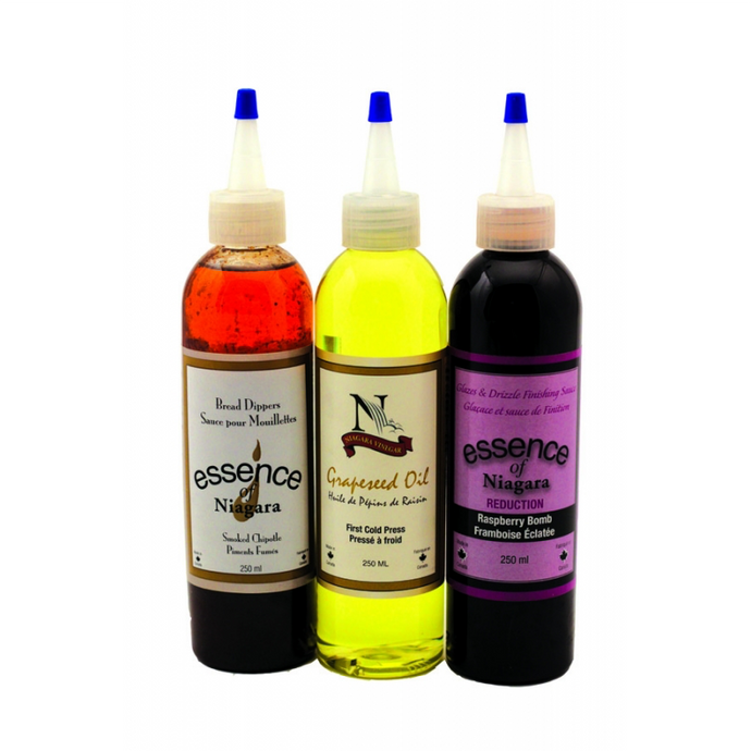 NIAGARA Local Cooking Oils and Vinegars, All Natural