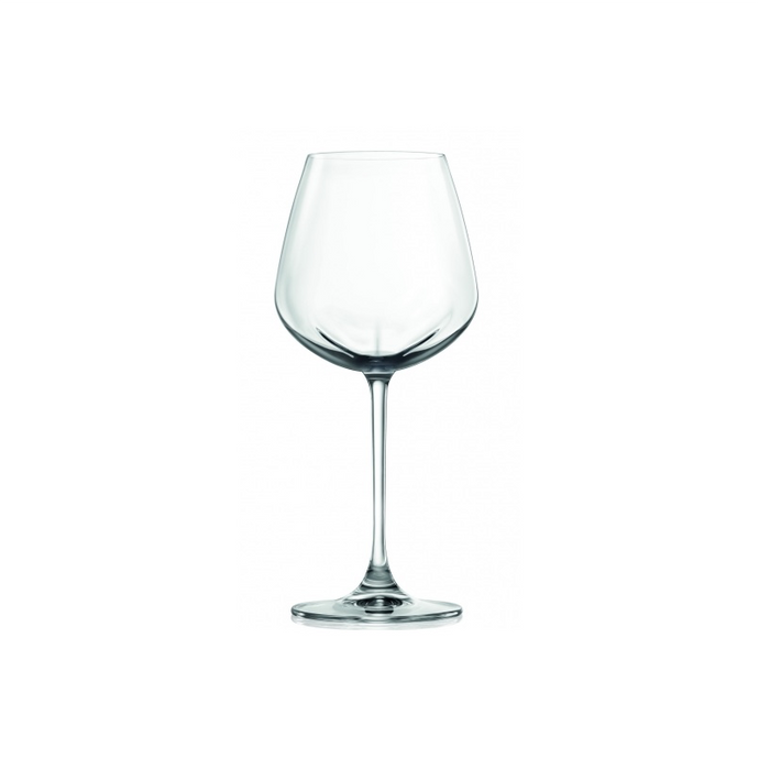 LUCARIS Desire Rich White Stemware Glasses (4 pack)