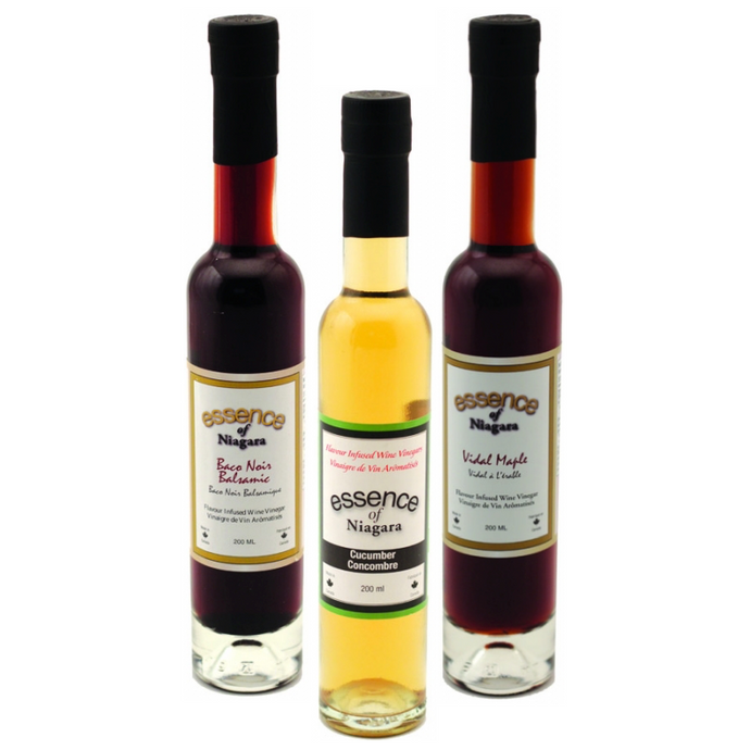 NIAGARA Flavour Infused Wine Vinegars, All Natural