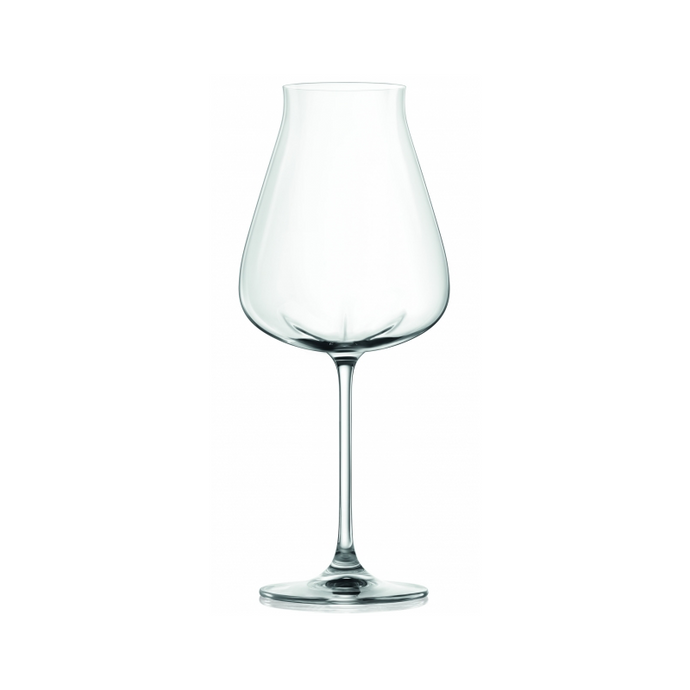 LUCARIS Desire Robust Red Stemware Glasses (4 pack)