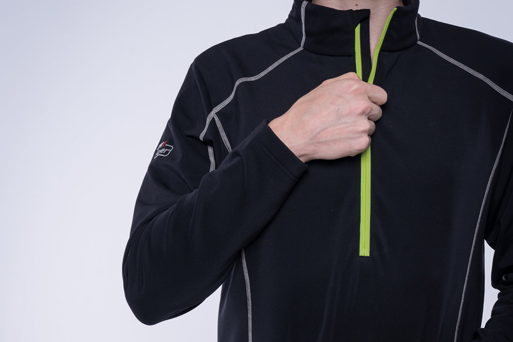 5V Heated Men's Half Zip Pullover (3 colors)