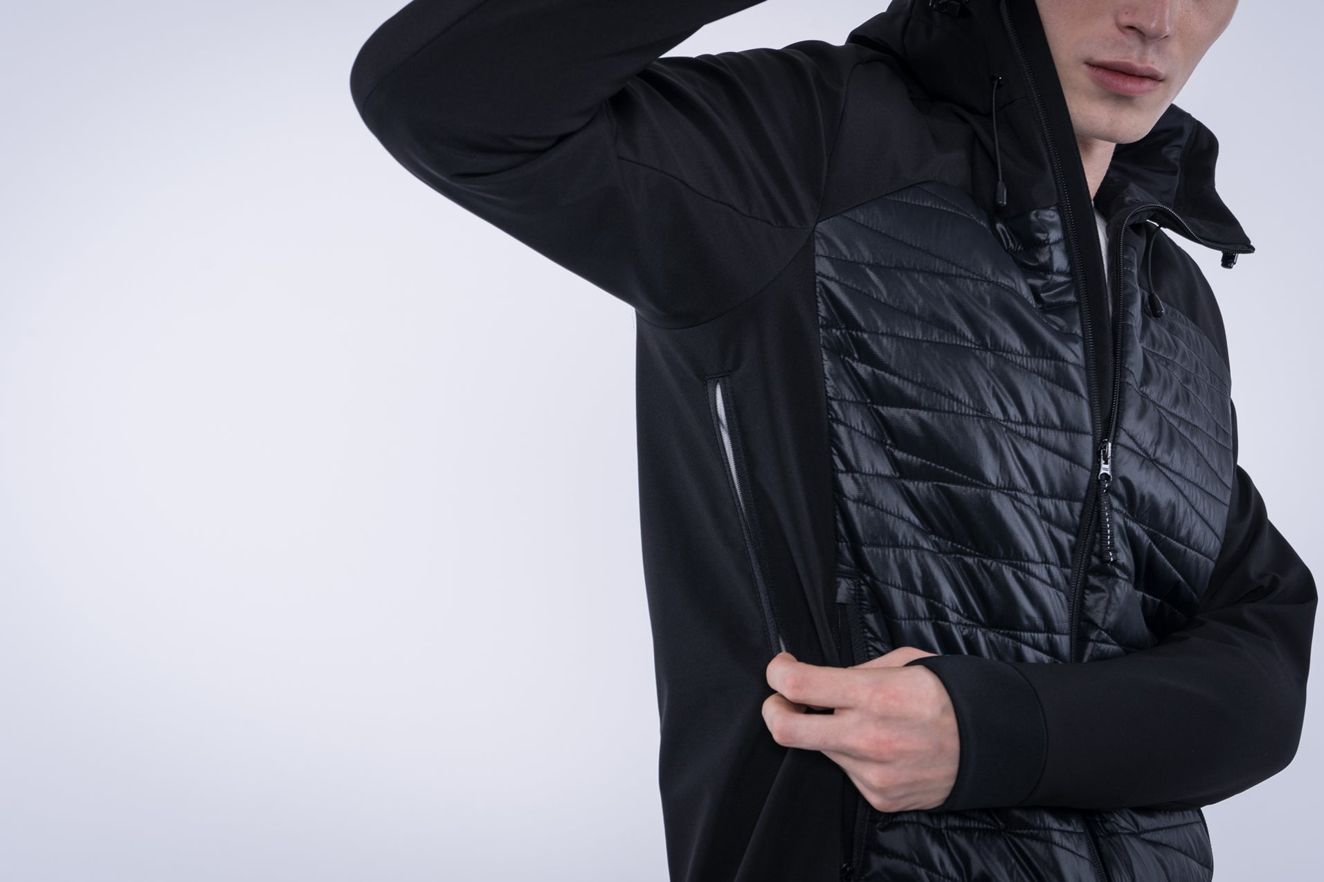 5V Heated Men's Radiant Jacket (Black)