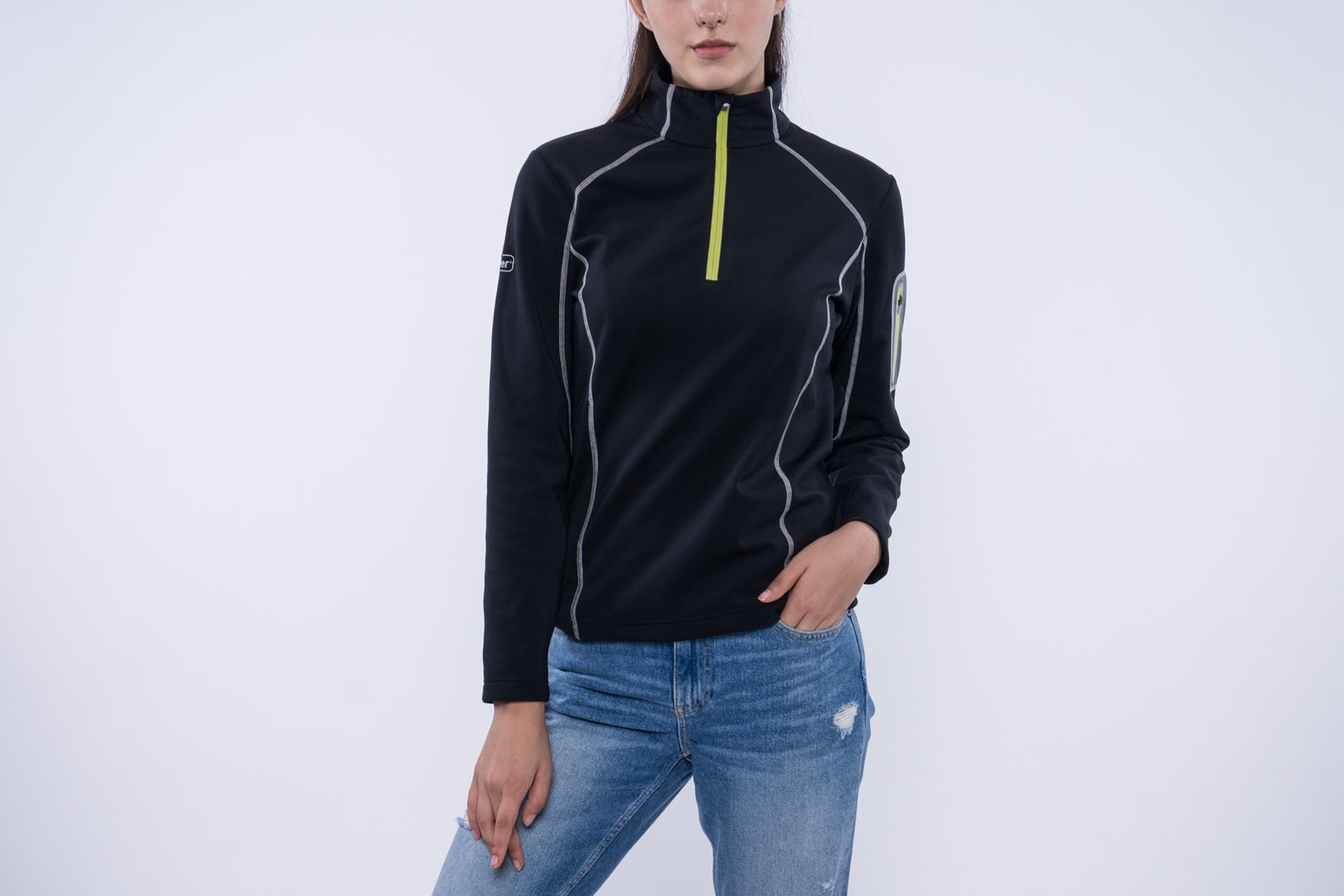 5V Heated Women's Half Zip Pullover (4 colors)