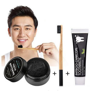 Bamboo Charcoal Teeth Whitening Kit
