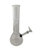 Glass Water Pipe Kit with Percolator Height:22cm Diameter:38mm&85mm
