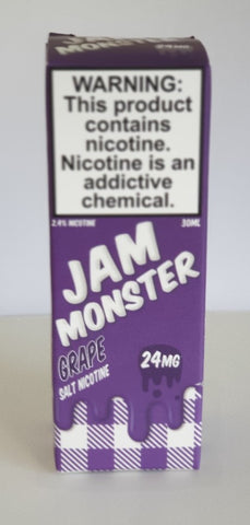 JAM MONSTER GRAPE SALT 30ML