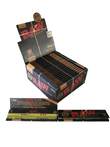 Raw Classic Unrefined Rolling Paper King Size