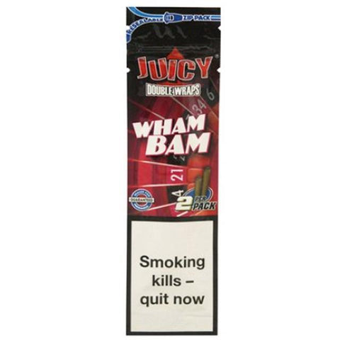 Juicy Jays 2PCS Natural Blunt Wraps