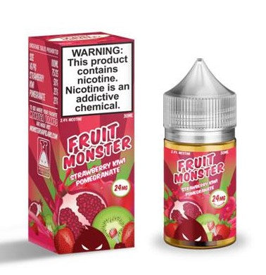 FRUIT MONSTER  STRAWBERRY KIWI POMEGRANATE SALT 30ML