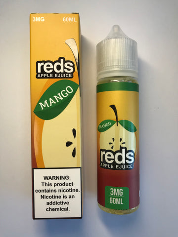 7DAZE - Reds Apple Mango 60ml USA Top Juice Brand