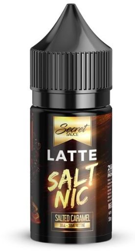 Salt Nic LATTE By Secret Sauce 30ml 35mg
