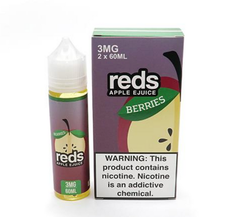 7DAZE - Reds Apple Berries 60ml USA Top Juice Brand