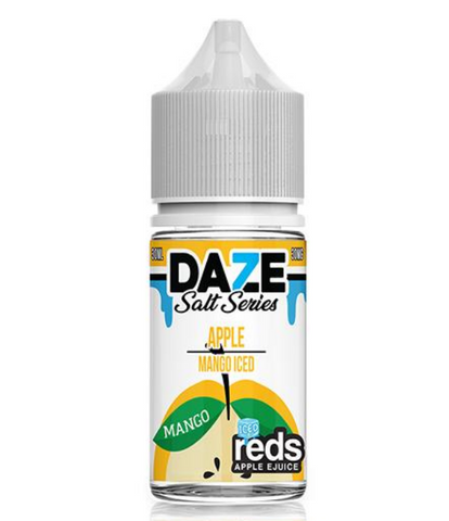 7DAZE - Nic Salt Mango Iced 30ml USA Top Juice Brand