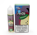 7DAZE - Reds Apple Berries Iced 60ml USA Top Juice Brand