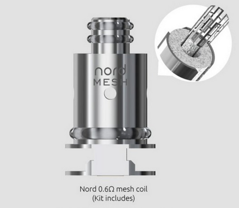 SMOK Nord Regular Coil 0.6ohm 5/PK