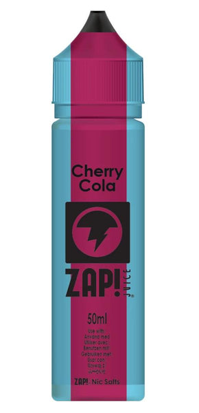 ZAP! JUICE - Cherry Cola 50ml & Nic Salt Mix 10ml