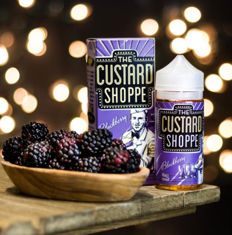 The Custard Shoppe - Blackberry 100ml 3mg Nicotine