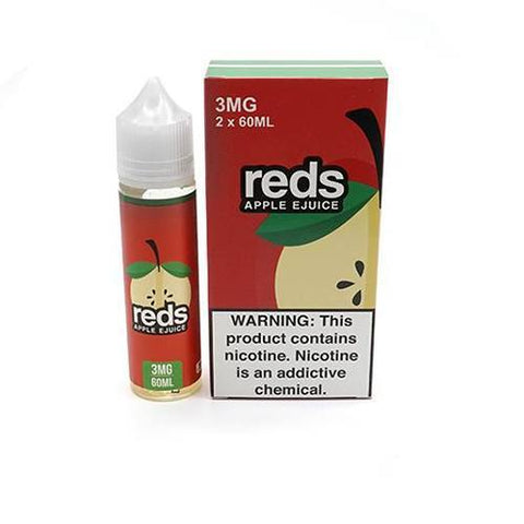 7DAZE - Reds Apple 60ml USA Top Juice Brand