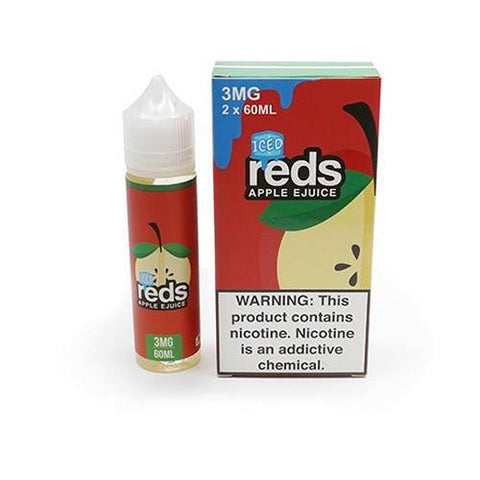 7DAZE - Reds Apple Iced 60ml USA Top Juice Brand