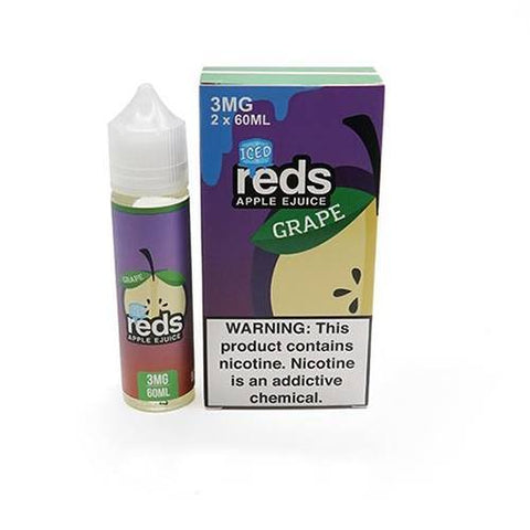 7DAZE - Reds Apple Grape Iced 60ml USA Top Juice Brand