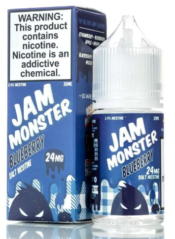 JAM MONSTER BLUEBERRY SALT 30ML