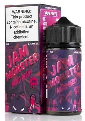 JAM MONSTER MIXED BERRY LIMITED EDITION 100ML