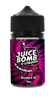 Juice Bomb! - BLACKCURRANT LIQ 50ml & 10ml Nic shot