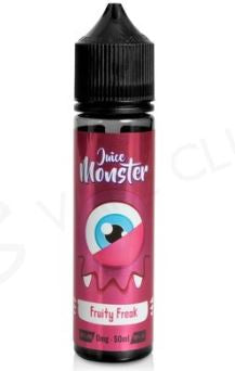 Juice Monster - FRUITY FREAK 50ml & 10ml Nic Shot