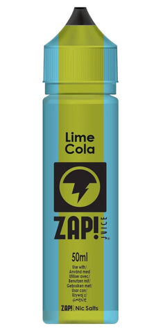ZAP! JUICE - Lime Cola 50ml & Nic Salt Mix 10ml