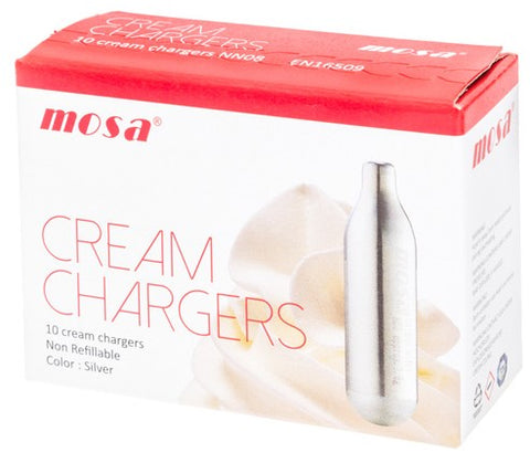 MOSA 10 PACK CREAM CHARGES