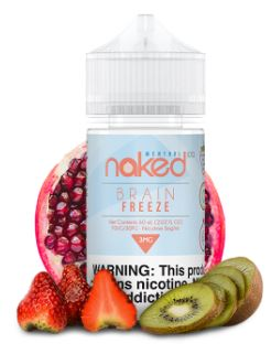 BRAIN FREEZE NAKED 100 MENTHOL 60ML