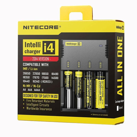 Nitecore Intellicharger I4 New AU Plug Charger