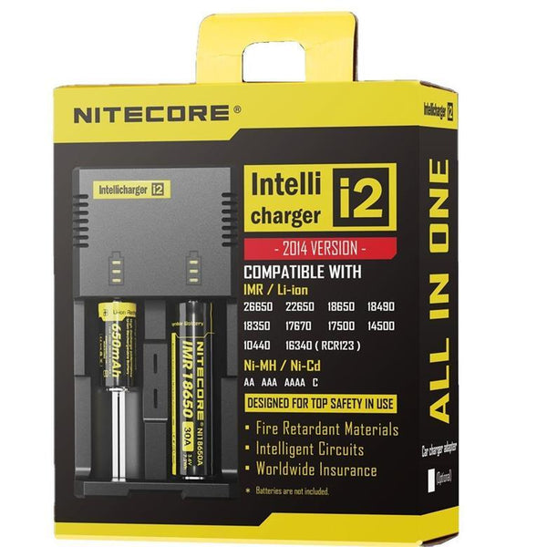 Nitecore Intellicharger I2 New AU Plug Charger