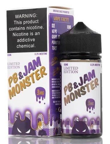 PB & JAM MONSTER LIMITED EDITION 100ML