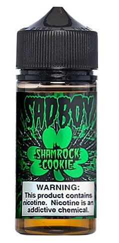 SADBOY E-LIQUID SHAMROCK COOKIE 100ML