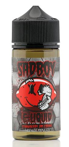 SADBOY E-LIQUID STRAWBERRY JAM COOKIE 100ML