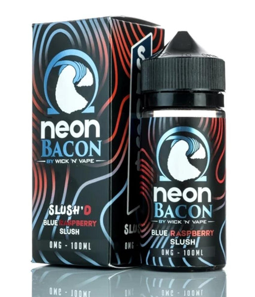 Neon Bacon Slush'd by Wick N Vape E liquid 100ml